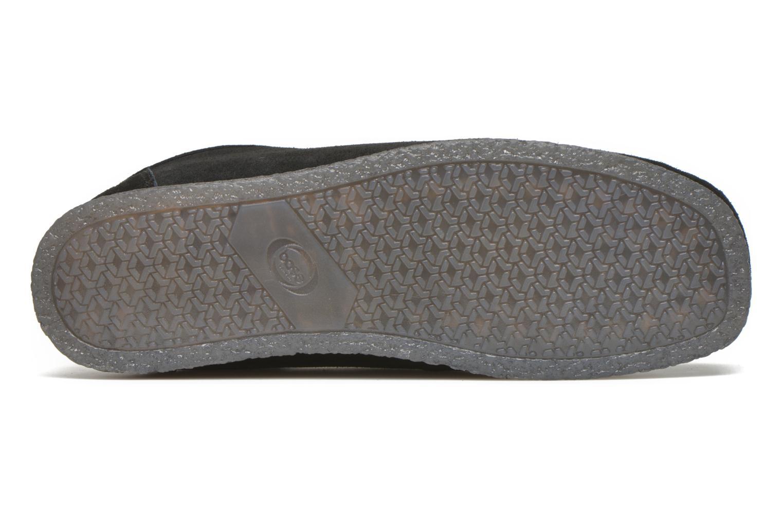 Chaussures à lacets Base London Genesis Noir vue haut
