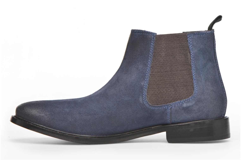 Stiefeletten & Boots Base London Scuttle blau ansicht von vorne