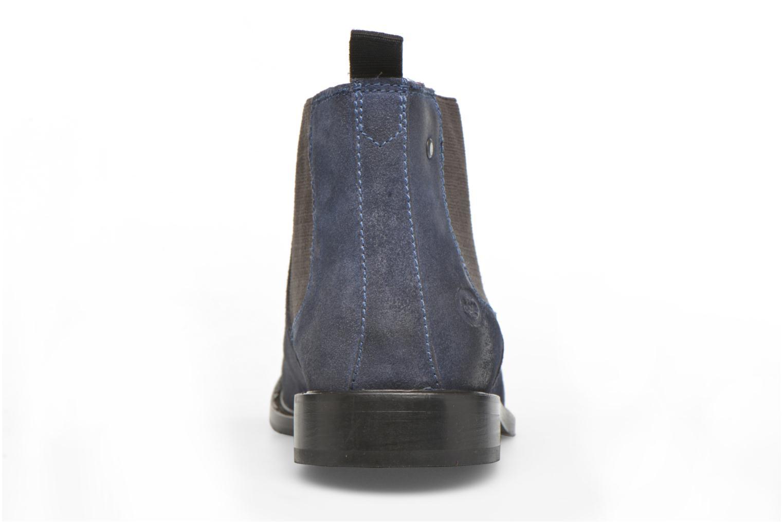 Stiefeletten & Boots Base London Scuttle blau ansicht von rechts