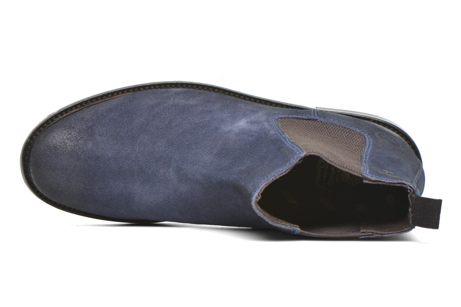 Scuttle Greasy Suede Navy