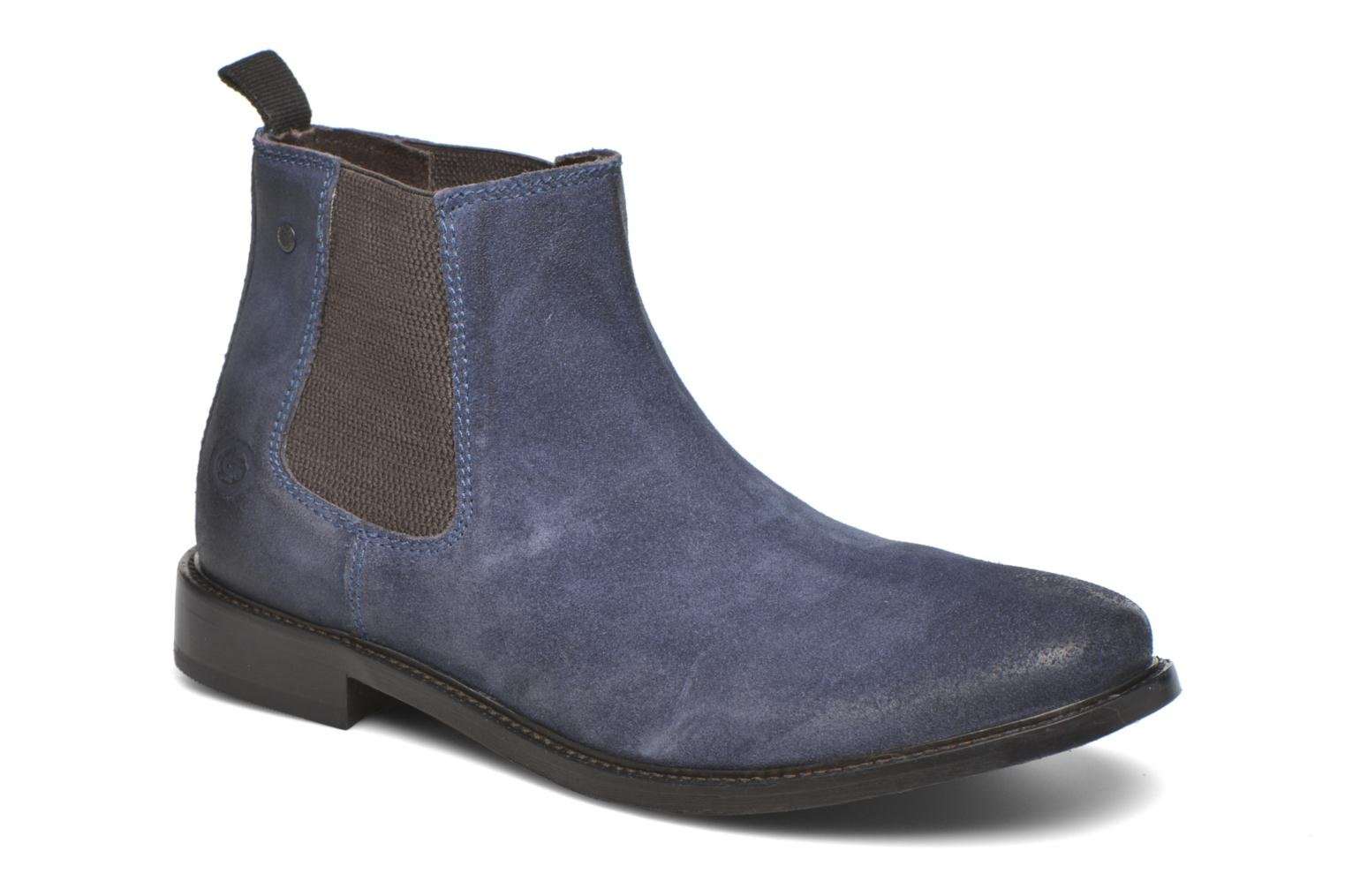 Bottines et boots Base London Scuttle Bleu vue détail/paire