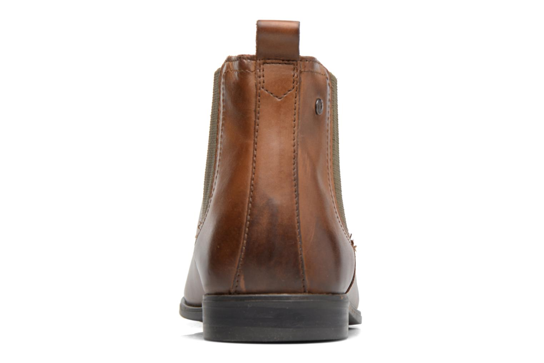 Bottines et boots Base London William Marron vue droite