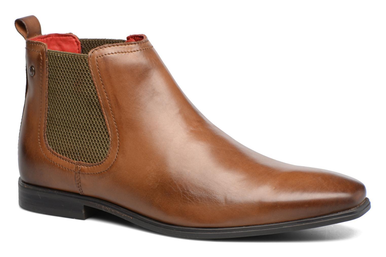 Bottines et boots Base London William Marron vue détail/paire