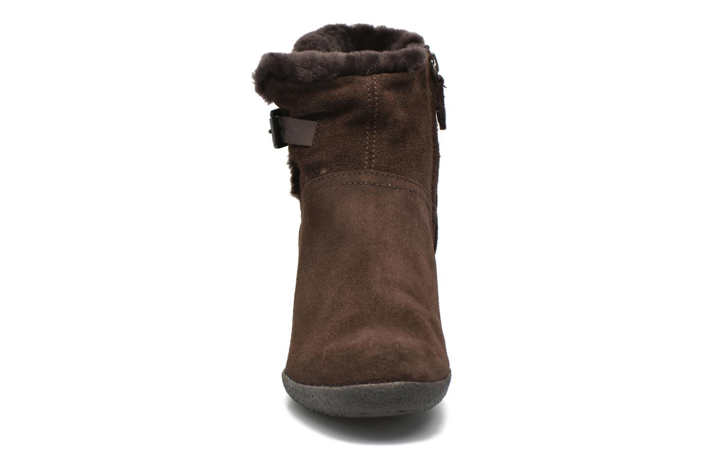 Stiefeletten & Boots Geox D AMELIA ST D D6479D braun schuhe getragen