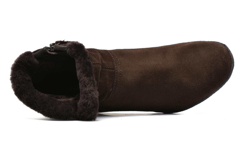 Stiefeletten & Boots Geox D AMELIA ST D D6479D braun ansicht von links