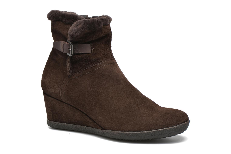 Bottines et boots Geox D AMELIA ST D D6479D Marron vue détail/paire