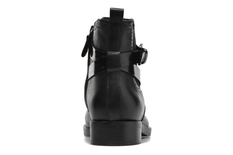 Stiefeletten & Boots Geox D BROGUE C D642UC schwarz ansicht von rechts