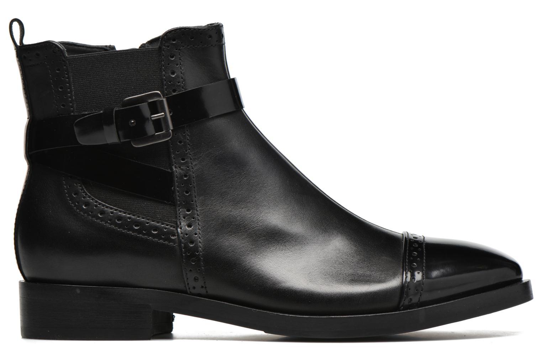 Stiefeletten & Boots Geox D BROGUE C D642UC schwarz ansicht von hinten