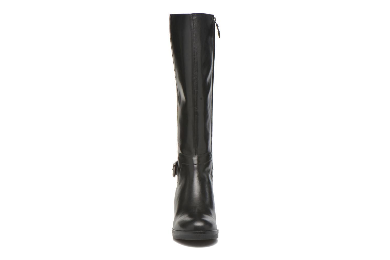 Stiefel Geox D DEMY D D641LD schwarz schuhe getragen