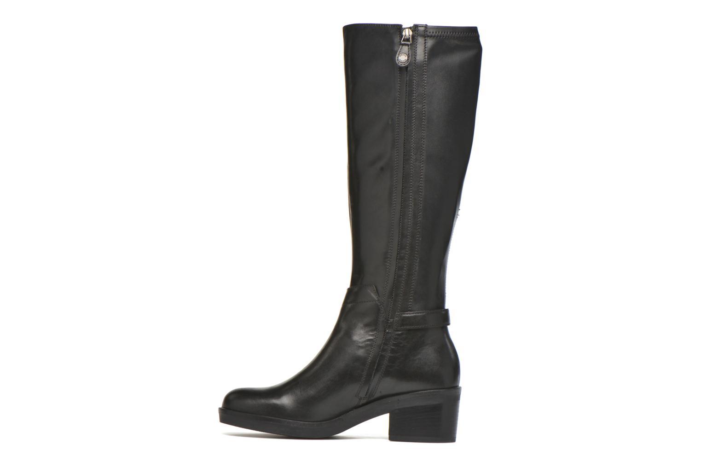 Stiefel Geox D DEMY D D641LD schwarz ansicht von vorne