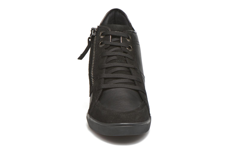 Baskets Geox D ELENI D D6467D Noir vue portées chaussures