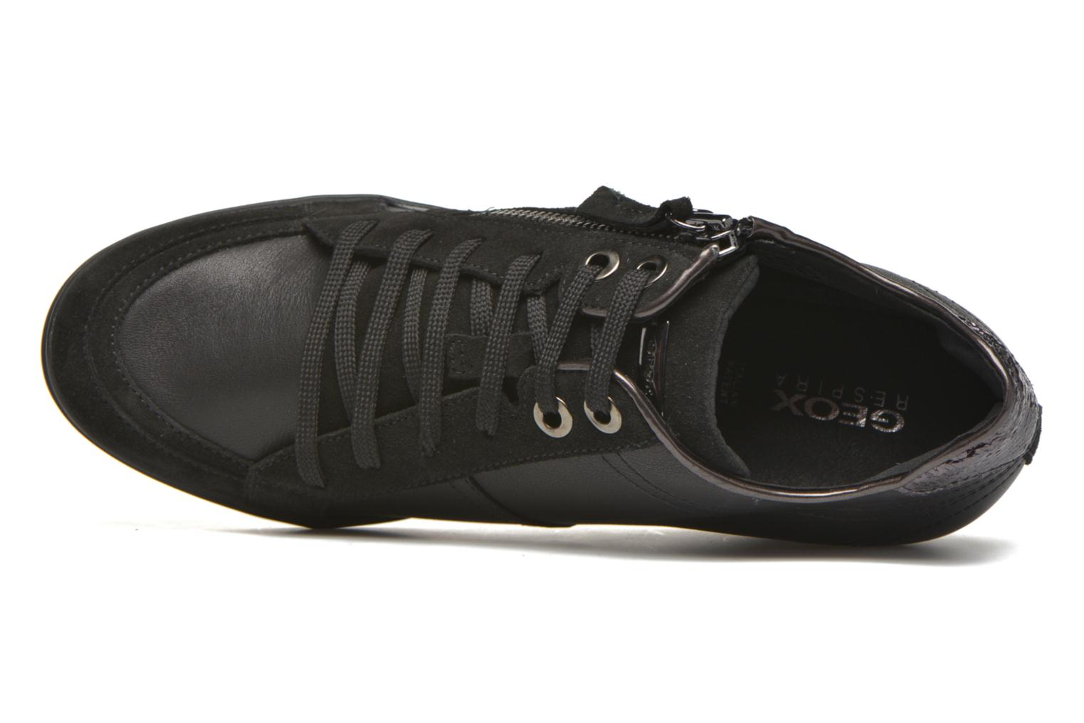 Trainers Geox D ELENI D D6467D Black view from the left