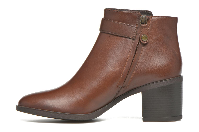 Bottines et boots Geox D GLYNNA B D643CB Marron vue face