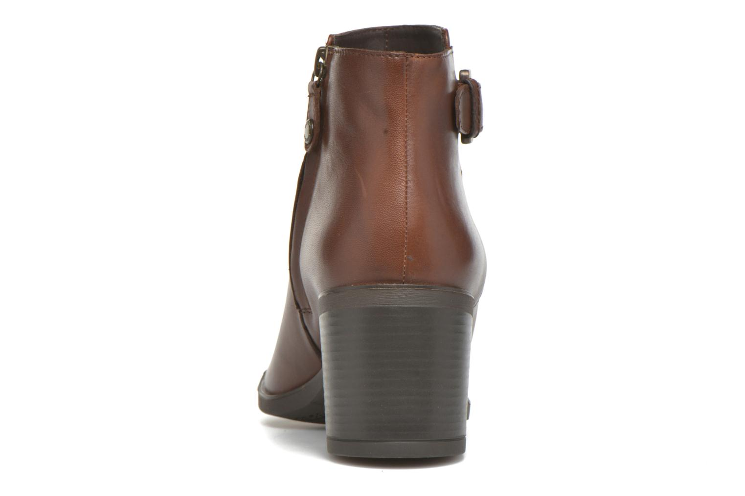 Ankle boots Geox D GLYNNA B D643CB Brown view from the right