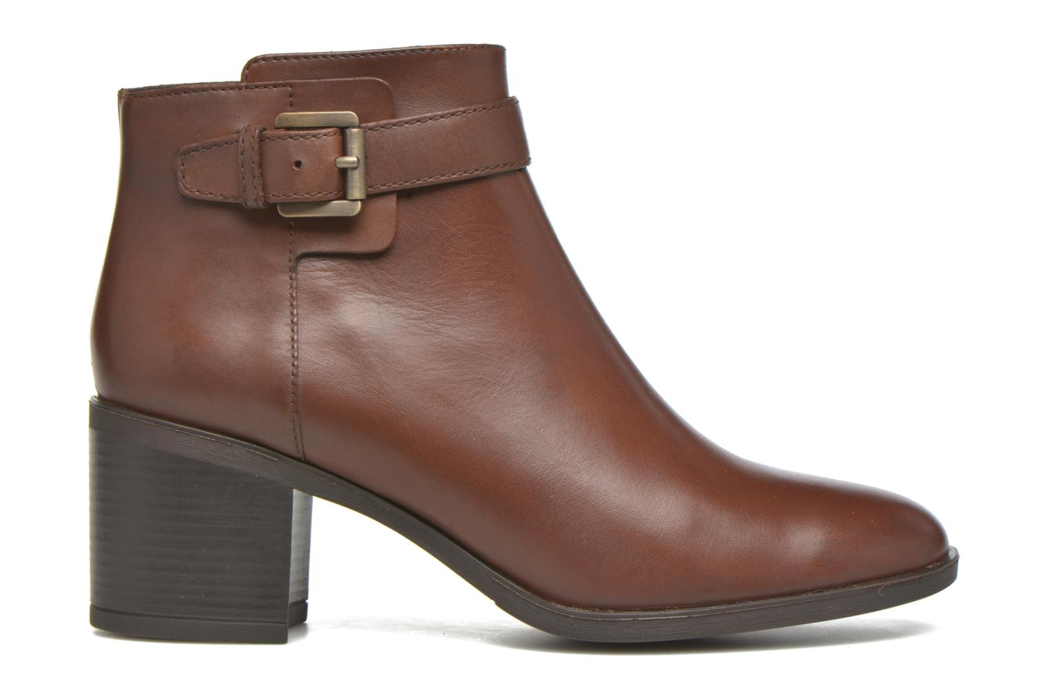 Ankle boots Geox D GLYNNA B D643CB Brown back view
