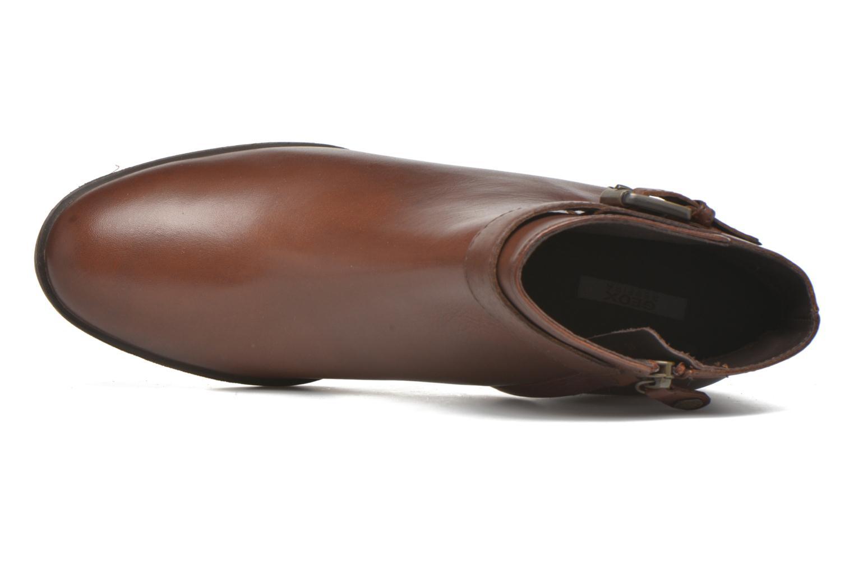 Stiefeletten & Boots Geox D GLYNNA B D643CB braun ansicht von links