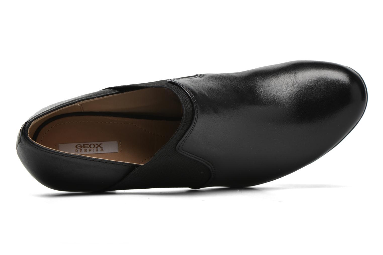Bottines et boots Geox D INSPIRATION B D64R4B Noir vue gauche
