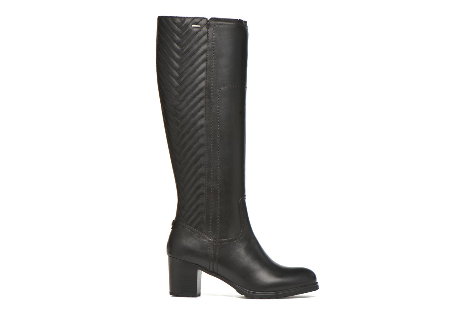 Boots & wellies Geox D LISE ABX B D64D1B Black back view