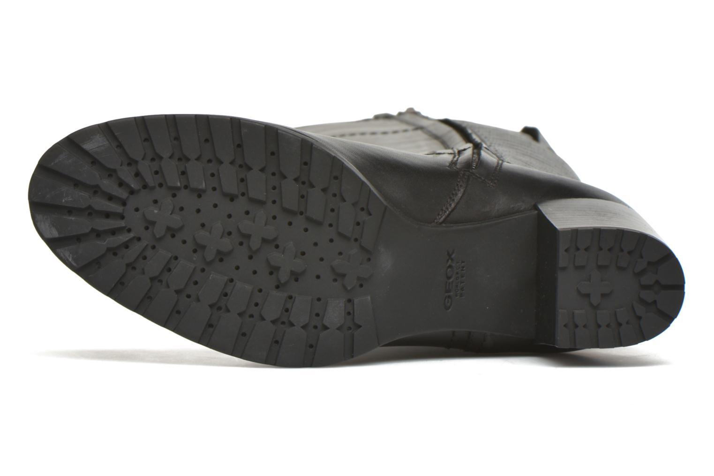 Stiefel Geox D LISE ABX B D64D1B schwarz ansicht von oben