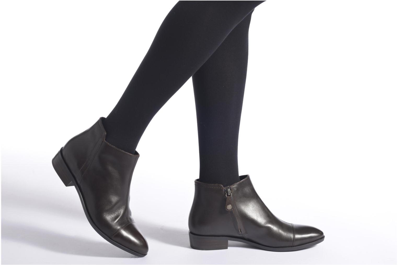 Stiefeletten & Boots Geox D LOVER B D640CB schwarz ansicht von unten / tasche getragen