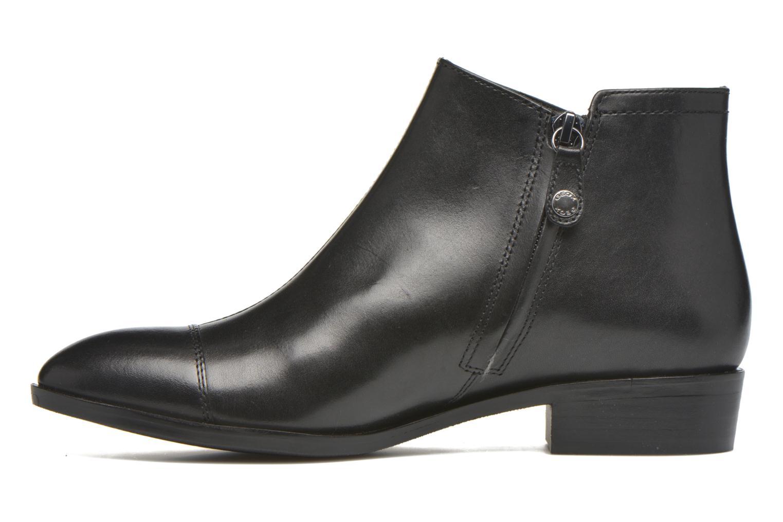Stiefeletten & Boots Geox D LOVER B D640CB schwarz ansicht von vorne