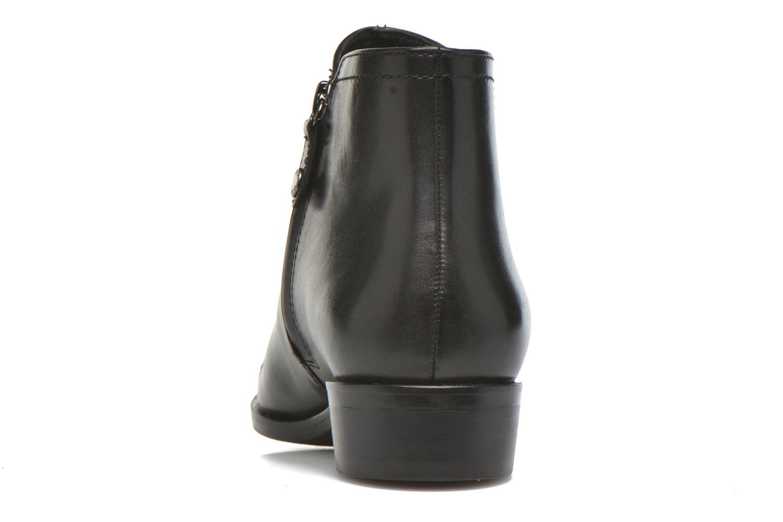 Stiefeletten & Boots Geox D LOVER B D640CB schwarz ansicht von rechts