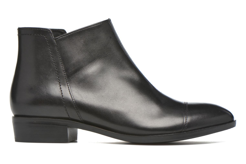 Stiefeletten & Boots Geox D LOVER B D640CB schwarz ansicht von hinten