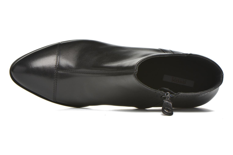 Stiefeletten & Boots Geox D LOVER B D640CB schwarz ansicht von links