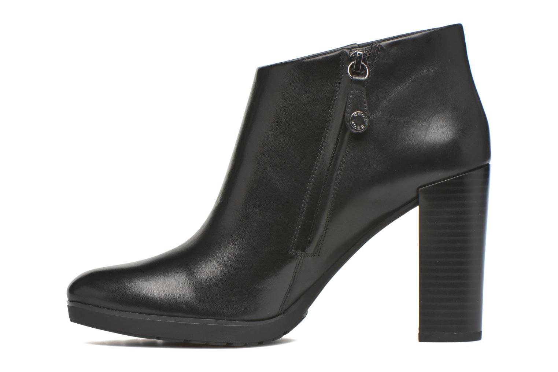 Stiefeletten & Boots Geox D RAPHAL B D643AB schwarz ansicht von vorne