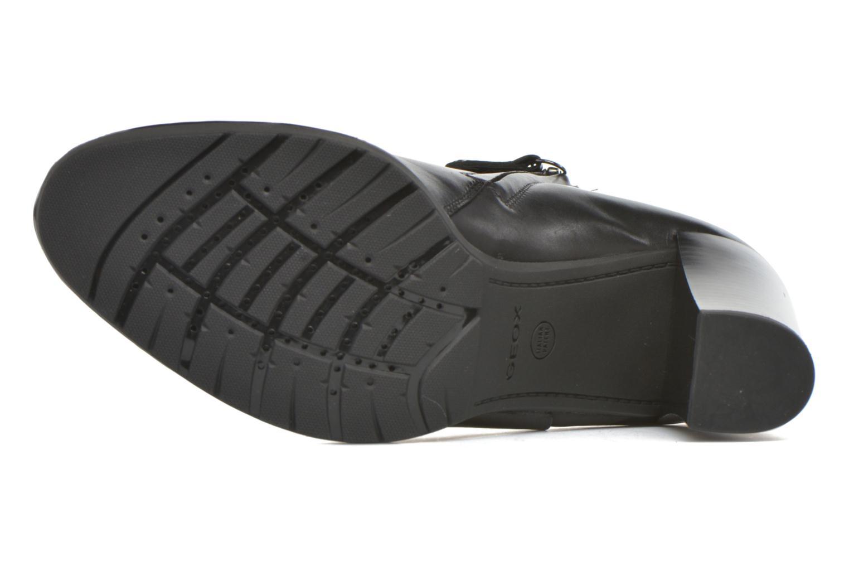 Stiefeletten & Boots Geox D RAPHAL B D643AB schwarz ansicht von oben
