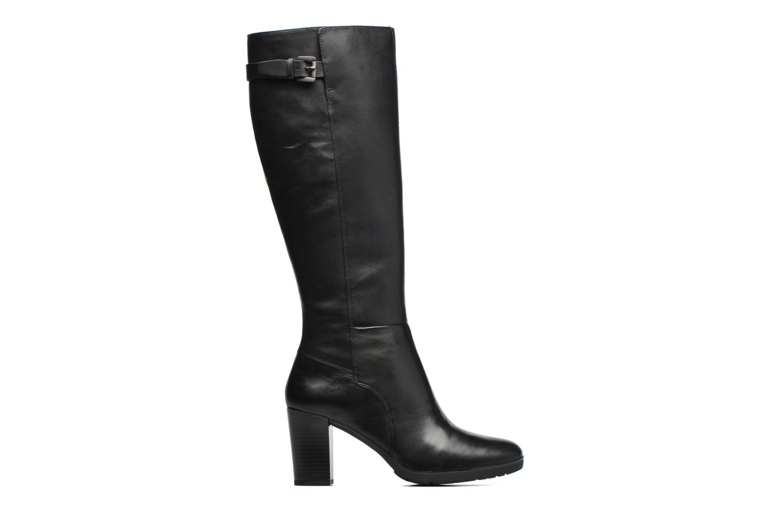 Boots & wellies Geox D RAPHAL MID C D643WC Black back view