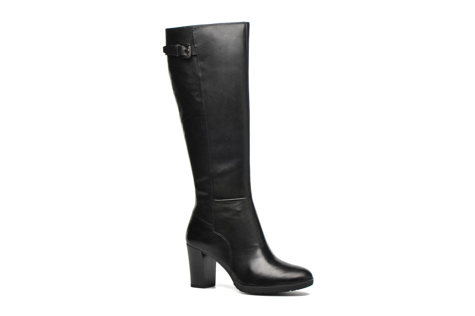 Boots & wellies Geox D RAPHAL MID C D643WC Black detailed view/ Pair view