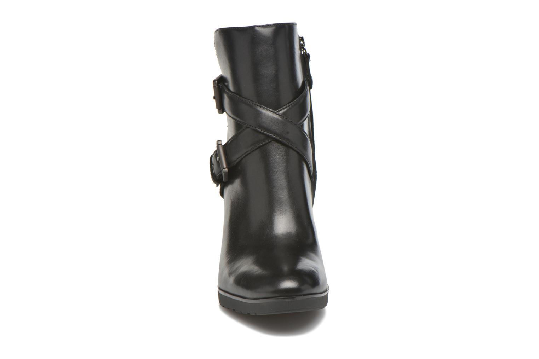 Bottines et boots Geox D RAPHAL A D643AA Noir vue portées chaussures