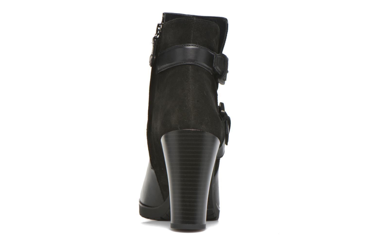 Ankle boots Geox D RAPHAL A D643AA Black view from the right