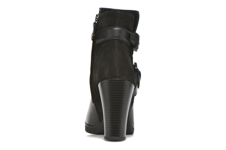 Bottines et boots Geox D RAPHAL A D643AA Noir vue droite