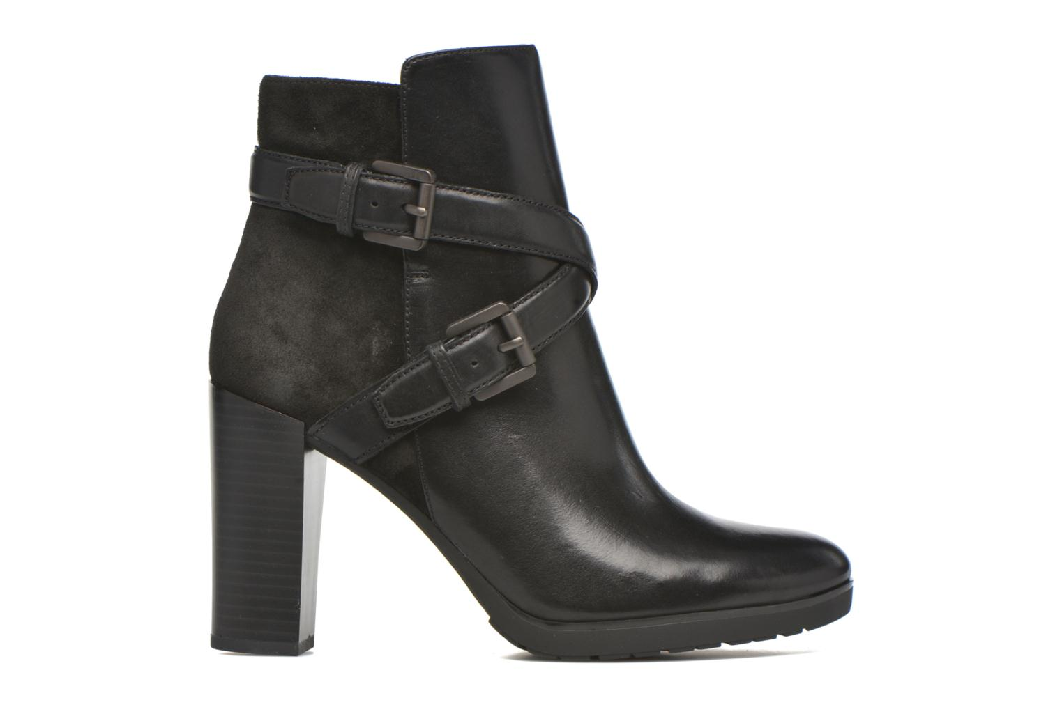 Ankle boots Geox D RAPHAL A D643AA Black back view