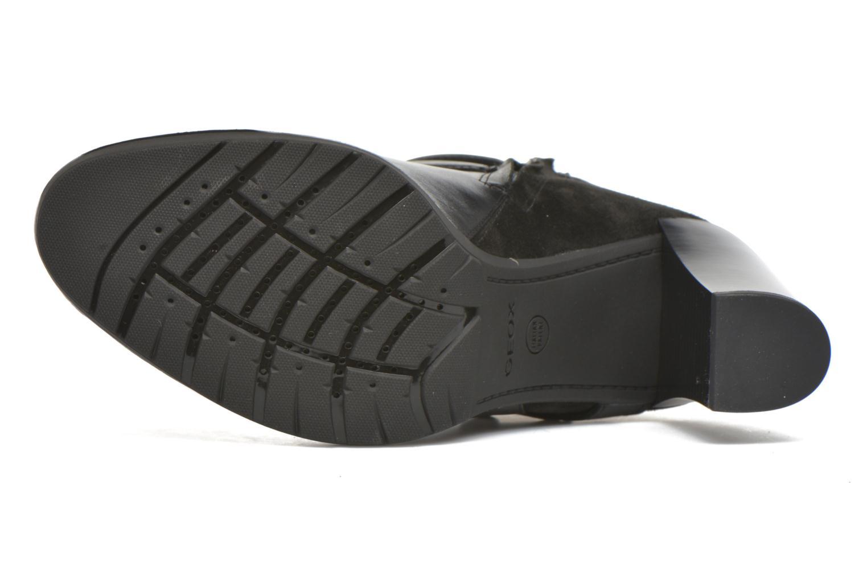 Bottines et boots Geox D RAPHAL A D643AA Noir vue haut