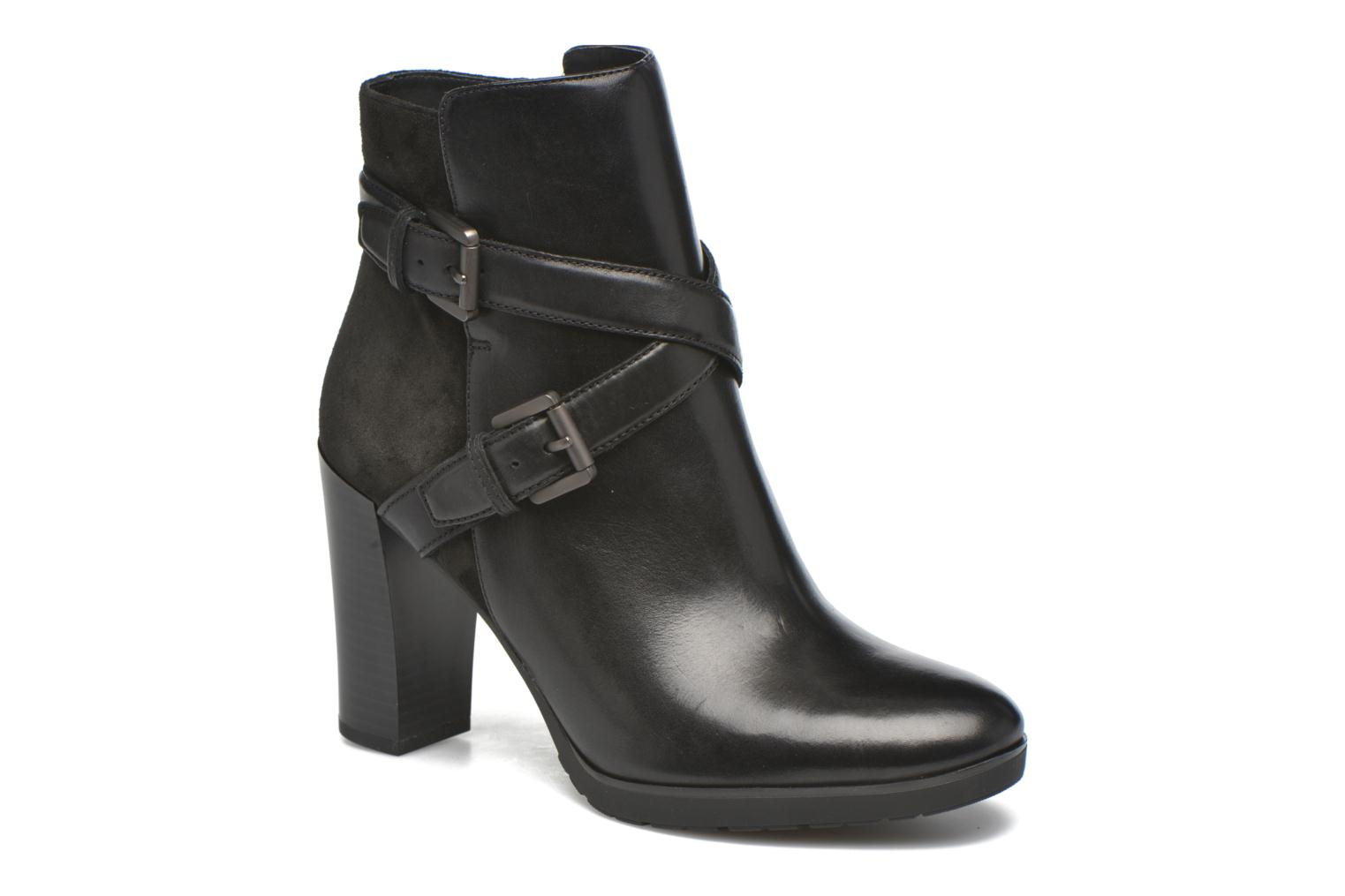 Ankle boots Geox D RAPHAL A D643AA Black detailed view/ Pair view