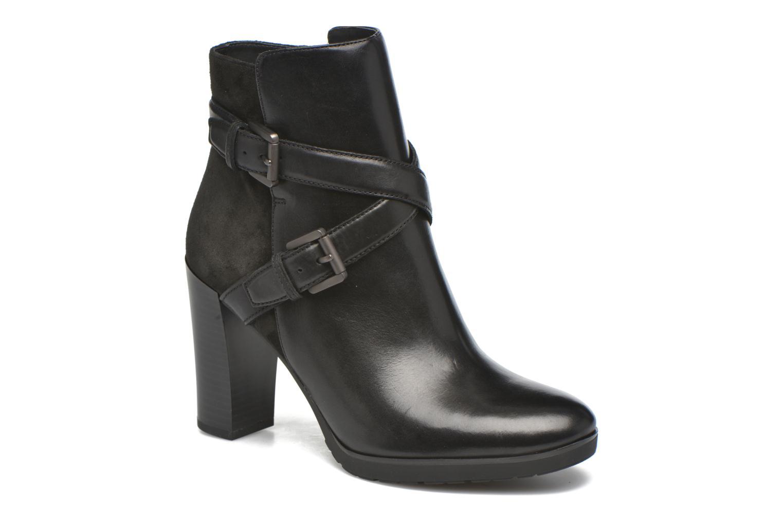 Bottines et boots Geox D RAPHAL A D643AA Noir vue détail/paire