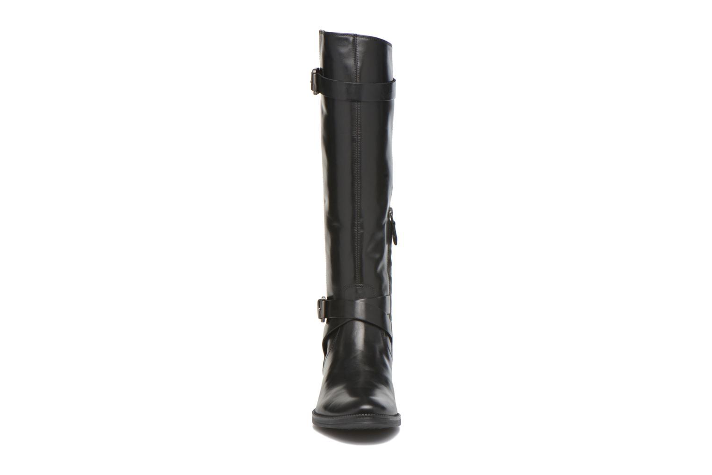 Bottes Geox D MENDI ST D D6490D Noir vue portées chaussures