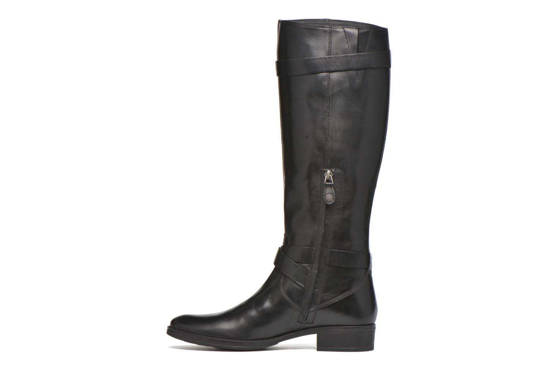 Stiefel Geox D MENDI ST D D6490D schwarz ansicht von vorne