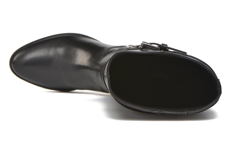 Stiefel Geox D MENDI ST D D6490D schwarz ansicht von links