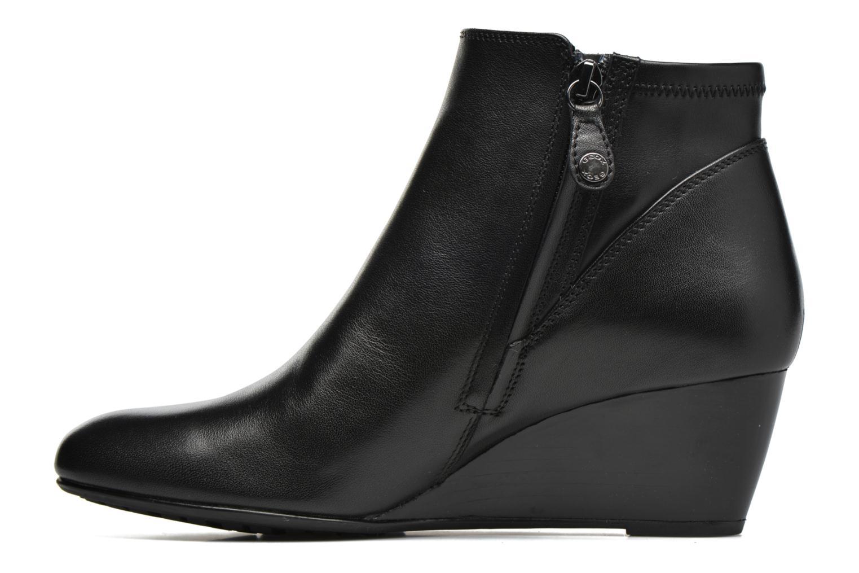 Bottines et boots Geox D VENERE A D64P8A Noir vue face