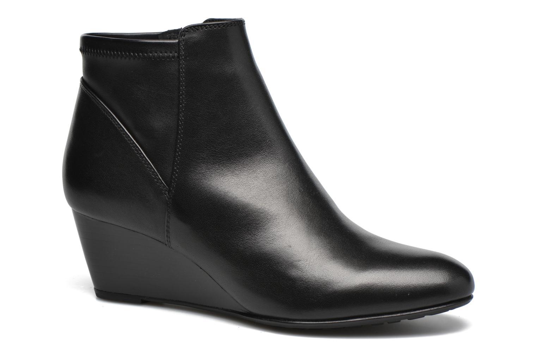 Bottines et boots Geox D VENERE A D64P8A Noir vue détail/paire