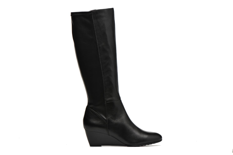 Boots & wellies Geox D VENERE B D64P8B Black back view