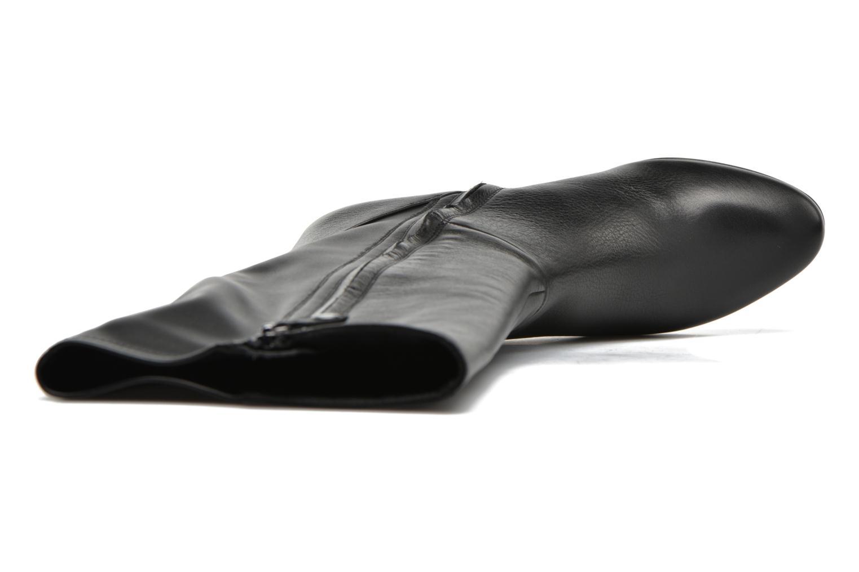 Stiefel Geox D VENERE B D64P8B schwarz ansicht von links