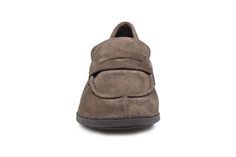 Mocassins Geox U BESMINGTON G U641XG Marron vue portées chaussures