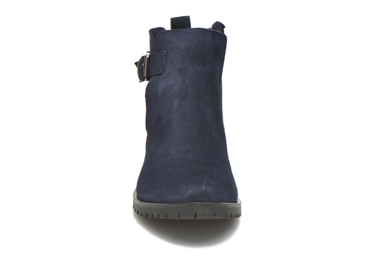 Stivaletti e tronchetti Anaki Clarice Azzurro modello indossato