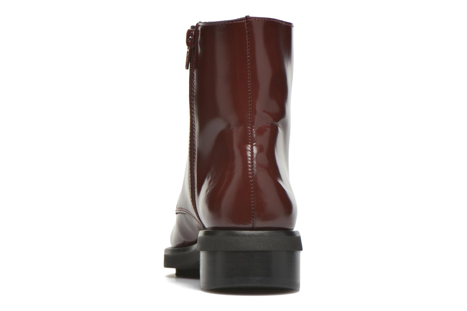 Ankle boots Anaki Jo Burgundy view from the right