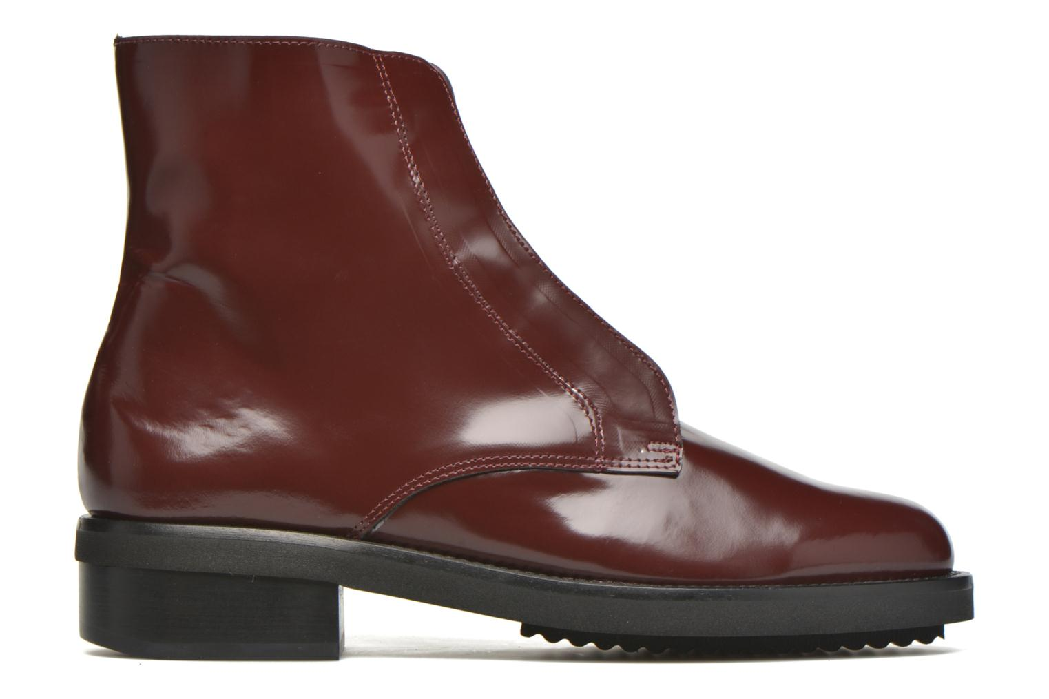 Ankle boots Anaki Jo Burgundy back view